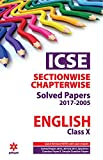 ICSE Chapterwise-Topicwise Solved Papers English Class 10th