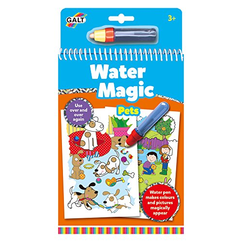 Galt 1005035Water Magic Pets, Libro da colorare per Bambini