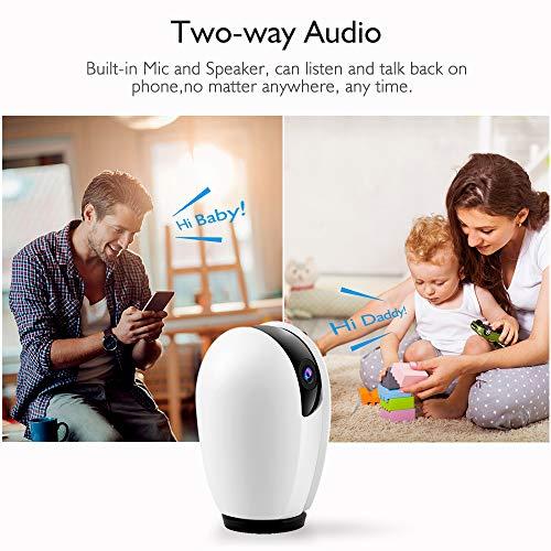 akaso p30  AKASO IP Dome Camera 1080P WiFi,Compatibile Alexa,Google Home,Fire ...