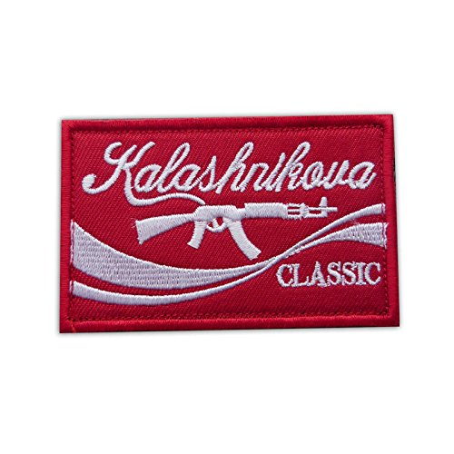 Onuris Kalashnikova Classic Patch Kalashnikow AK-47 Aufnäher Moral Airsoft Paintball -