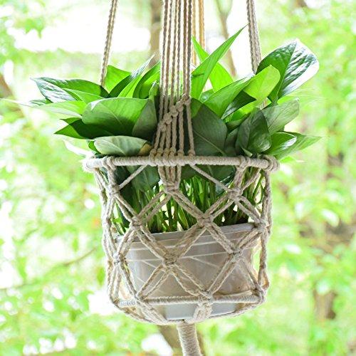Preferenza justmysport Plant Hanger filo di cotone per piante indoor outdoor  ZQ44