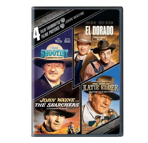 4 Film Favorites: John Wayne (The shootist + El Dorado + The Searchers + The Sons of Katie Elder)
