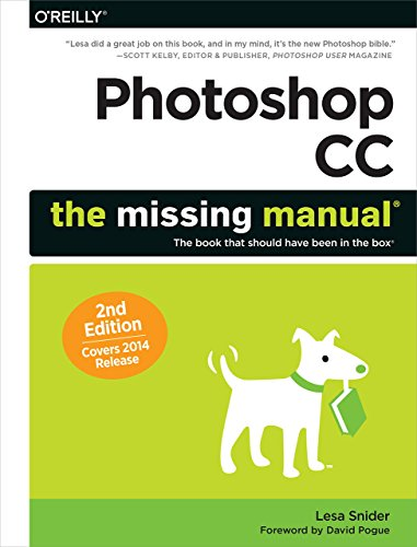 Photoshop CC: The Missing Manual: Covers 2014 release (The Missing Manuals) by Lesa Snider (5-Sep-2014) Paperback