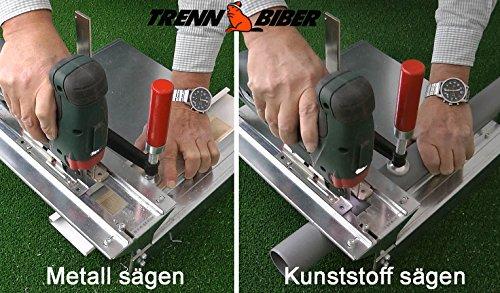 5St MG52 Sandwich Stichsägeblätter 180 mm lang für Stichsäge u Trenn-Biber 012P - 8