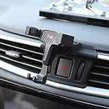 RUIYA Smartphone-Handyhalterung mit Verstellbarer Belüftungsclip-Abdeckung Für 2016 2017 2018 Nissan Qashqai & 2017 2018 Nissan X-Trail (3,5-6,0 Zoll Telefon)
