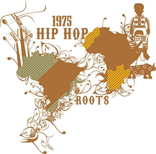 T-Shirt E317 Schönes T-Shirt mit farbigem Brustaufdruck - Logo / Grafik - abstraktes Design / HipHop Roots / Breakdance Mehrfarbig