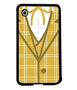 PrintVisa Designer Back Case Cover for Samsung Galaxy Tab 2 (7.0 Inches) P3100 (Designer Cheque Square Shirt Tailor Knote Style )