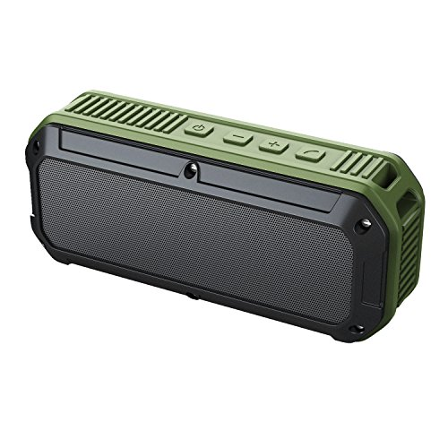 Aukey SK M8 Altavoz con Bluetooth 4.0 color verde