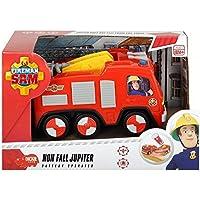 Smoby - 203092000038 - Sam Le Pompier Jupiter Pré Scolaire - Camion Pompier - 14 cm