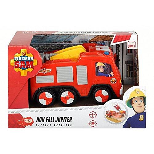 Majorette - 203092000038 - Sam Le Pompier Jupiter Pré Scolaire - Camion Pompier - 14 cm