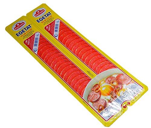 Egetürk-Egetat Dilim Sucuk-Knoblauchwurst in Scheiben (500g)
