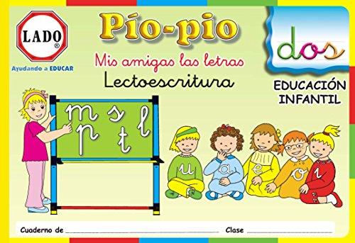 Pío-pío, Mis amigas las letras, lectoescritura, consonantes, Educación Infantil. Cuaderno 2