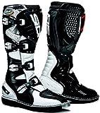 Sidi Agueda–Stivali da motocross bianco/nero