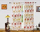 Dekor World Net Floral Curtain (Pack of ...