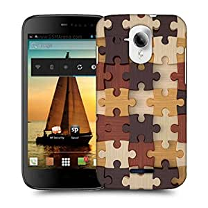 Snoogg puzzler Designer Protective Back Case Cover For Micromax A117 Canvas Magnus
