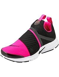 NIKE Presto Extreme (GS) Big Kid s Running Shoes Black Pink Prime White 1992ad6bc9