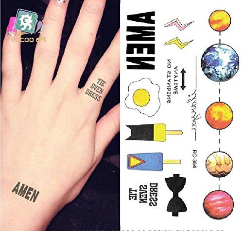 temporare-korperkunst-entfernbare-tattoo-aufkleber-einfach-rc2364-sticker-tattoo-temporary-tattoo-fa