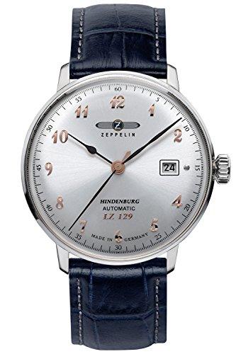 Zeppelin Mens Automatic Watch LZ129 Hindenburg Ed. 1 7066-5