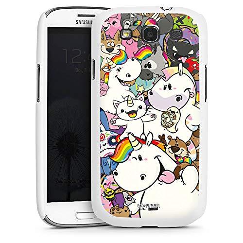 DeinDesign Hülle kompatibel mit Samsung Galaxy S3 Neo Handyhülle Case Pummel und Freunde Pummeleinhorn Einhorn