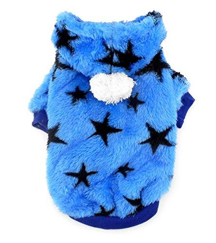 smalllee_lucky_store Pullover mit Kapuze aus weichem Samt