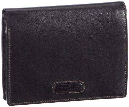 M-Collection Merlin Portemonnaie (HF) 4900000296, Unisex-Erwachsene Geldbörsen, Schwarz (black 900), 10x13x1 cm (B x H x T)