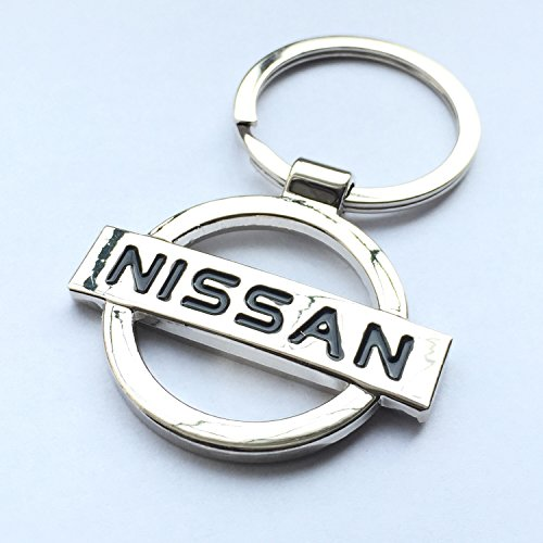 iTech ® Nissan Chrome Metal Car Logo Keyring Key Fob Keychain