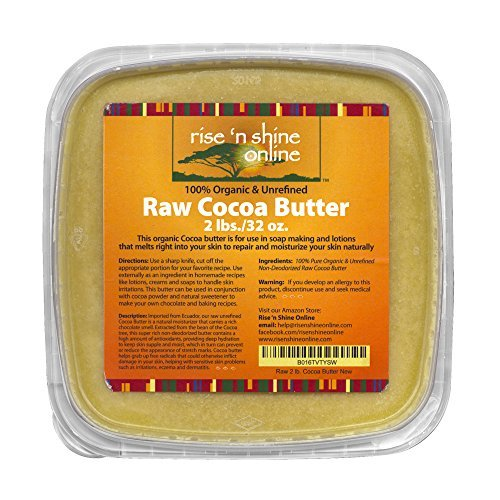 32-oz-bulk-raw-cocoa-butter-with-recipe-ebook-perfect-for-all-your-diy-home-recipes-like-soap-making