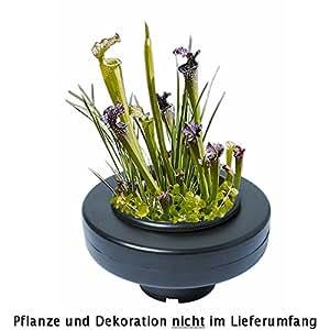 Panier flottant 23 cm de diamètre pour plantes de bassins de jardin et étangs