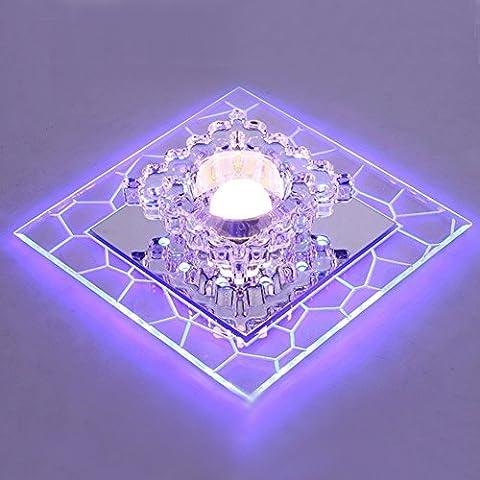 LED Lampe de plafond en cristal - SENYANG Mini Style