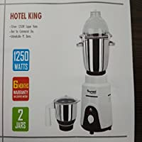 Sumeet Traditional Hotel King 1250 Watts Marvelous Mixing And Grinding Mixer Grinder