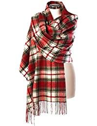 Edinburgh 100% Lambswool Wide Scottish Tartan Stole