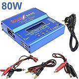 Leyeet iMAX B6 Lipo NiMh Li-Ion Ni-CD RC Batería Equilibrio Cargador Digital AC Cargador de la UE (Color : EU Plug)