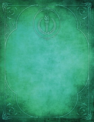 Monogram Olympics Blank Sketchbook: Art Sketch Pad Notebook: Volume 61 (Monogram Elegance 150 Sketch) por N.D. Author Services