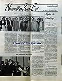 NOUVELLES SUD-EST [No 2077] du 15/01/1987 - CONCOURS REGIONAL DES SUGGESTIONS - AMELIORER, C'EST POSSIBLE PAR JEAN FEDELE - DES CHAMPIONS DE LA VENTE PAR JEAN-PIERRE MARGALHAN-FERRAT - REGION DE CHAMBERY - SAINT-GERVAIS - EXPOSITION SUR LE TGV A LA MAISON DES JEUNES ET DE LA CUTLURE PAR ROGER FOURET - GRENOBLE - DEPART EN RETRAITE DE M. LOUIS VAUDAINE.
