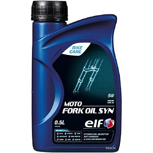 Olio di forcella Elf Moto Fork Oil Syn 5W-Bidone di 500m