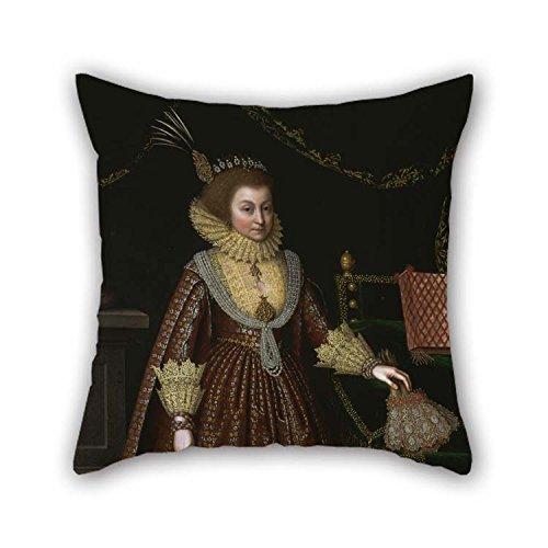 Slimmingpiggy Gemälde von Paul somer-Elizabeth, Countess kellie Kissenbezug 18x 18, 45cm für Ehemann, mit Matratze, mit beidseitig -