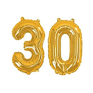 Neviti 774236 Party - Globos de papel, color dorado