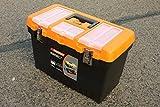 19' JUMBO Werkzeugkoffer Leer Werkzeugkasten Werkzeugkiste Werkzeug Box Kunststoff Kiste - B/L/H - 27CM/49CM/32CM