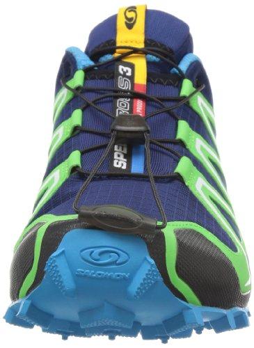 Salomon Speedcross 3 127609, Herren Sportschuhe - Running Dunkelblau-Grün