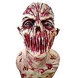Takefuns - Máscara de Horror Zombie, máscara de látex bioquímico Monstruo Traje de Fiesta de Halloween Carnaval Masquerade Decoraciones, látex, A2, A2