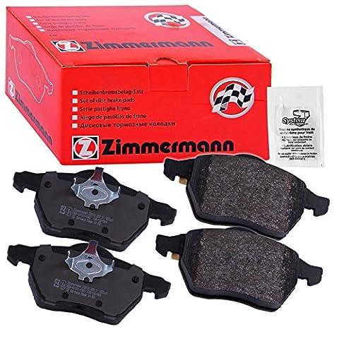 ZIMMERMANN BRAKE PADS REAR HONDA JAZZ 2 GD 1.2 1.4 02-06