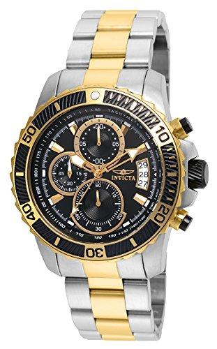 Invicta 22418 Pro Diver - Scuba Reloj para Hombre acero inoxidable Cuarzo Esfera negro