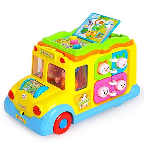 SXPC Spielzeugauto Hobby Spielzeug Kinder pädagogisches Spielzeug Campus Bus Musik Auto elektrische universal Lampe lernspielzeug - 634 Lampen