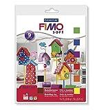 STAEDTLER FIMO soft Basic-Set mit 9 Halbblöcken à 25 g