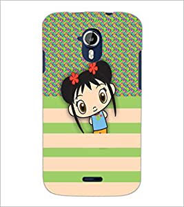 PrintDhaba Cartoon D-5791 Back Case Cover for MICROMAX A116 CANVAS HD (Multi-Coloured)