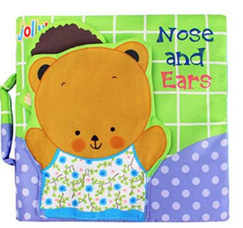 Tery Baby Kleinkind Spielzeug Kinderbett Spielzeug Baby Puzzle Multifunktionale Baby / Kleinkind Spielzeug Brief Tuch Buch Babyplay Activity Book
