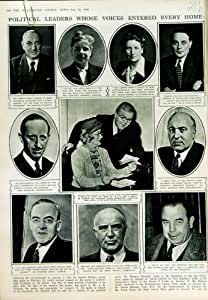 1950 COLLINE ATTLEE DE SALISBURY POLLITT D'AMORCES POLITIQUES