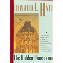 Hidden Dimension by Edward T. Hall (1992-12-30)