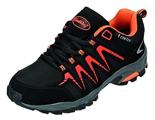 Conway 607398, Baskets Basses Homme noir/orange