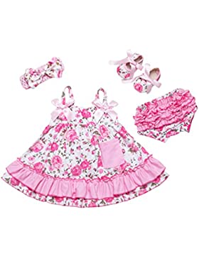 Yiiquan Costumi Appena nato sveglio dei delle ragazze del bambino del Outfit pagliaccetto infantile Tutina
